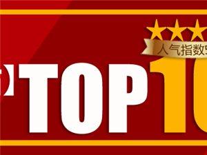【博兴在线一周热帖】TOP10综合排行榜(2019年第5周)