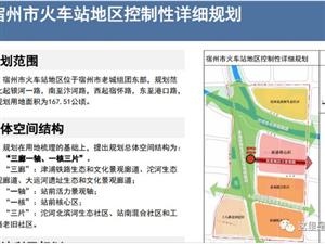 宿州火车站城市设计图曝光!即将拉开宿州这片区域的建设蓝图...