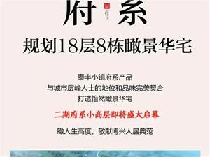 震撼!泰丰小镇・两系产品大公开!