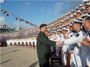 我国第一艘国产航空母舰交付海军习近平出席交接入列仪式