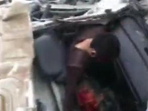 化州林尘尚书堂路段,一货车失控撞墙,现场惨不忍睹…