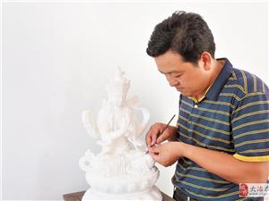 石雕工艺传承人尹国安―― 精雕细琢 让每一块石头活起来