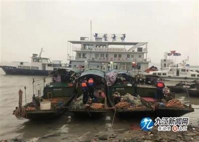 湖口:长江九江段出现非法捕捞犯罪团伙,8名犯罪嫌疑人落网!