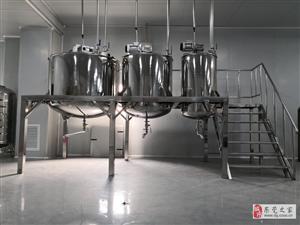 捷特機械為台湾保健品公司定製3台捷特攪拌罐,滿足500噸年產量