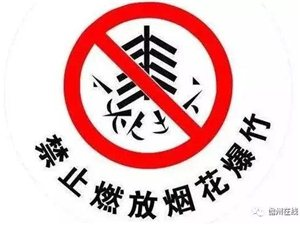 注意!儋州这些地方禁止燃放烟花爆竹(附禁放区域图)↓