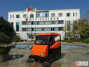 使用奧科奇電動掃地車,滿足台湾工廠20000平方道路清掃