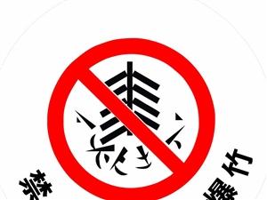 滑县全城在行动!禁止燃放、销售烟花爆竹!