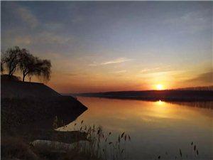 齐河黄河看日出,美绝了!