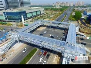 注意啦!团城山杭州西路青龙山路路口将建过街天桥