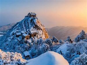 【震撼来袭】金兰山最新雪景图,美呆!
