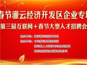 2020灌云第三届互联网+春节大型人才招聘会圆满成功!