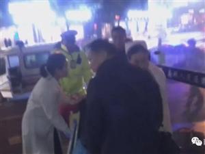 孕妇高速南城段临盆待产南城交警医生夫妻接力救助母子平安