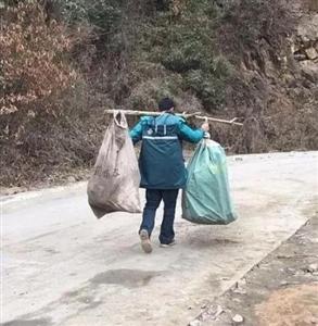 最美逆行者:汉中邮递员肩挑快递步行4公里送递