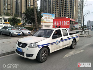 """广安区综合行政执法局 坚持""""四抓""""助力企业复工复产"""