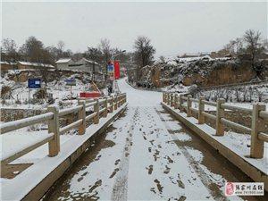 纪实摄影:风雪中阻击疫魔的乡村一线战士