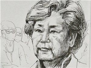 抗击疫情,铁力市女画家刘淑清以墨香致敬,礼赞英雄