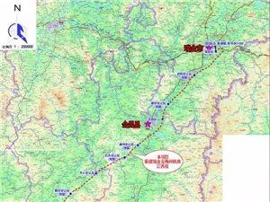好消息,瑞梅铁路江西段线路长度166.962km将设在寻乌站