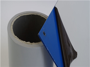 常年承接定制各种黑白膜 浅蓝膜 无色透明涂胶保护膜 试样免费