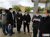 安徽省教育厅公安厅联合检查组来我校检查开学准备工作