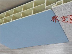 竹木纤维集成墙板长城板吸音板轻质隔墙板