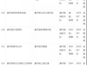 唐河7月����@20家企�I和店面�M行消防�O督抽查!