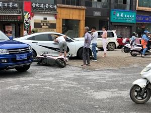 鼎红附近交通事故!