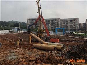 文林镇第三小学校迁建项目进展顺利