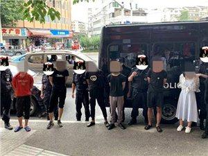 泸州江阳南路一门市被盗,7名涉案嫌疑人悉数被抓