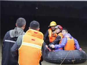 博�d�h�t院地下室�M水8人被困 6人�@救2人遇�y