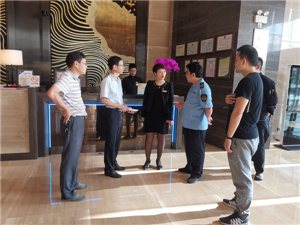 滁州市市场监管局督查区餐饮宾馆文明创建工作