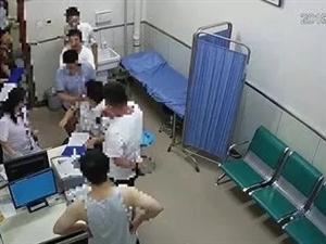 榆林一男子挥拳殴打一医院医生致骨折