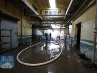我县一工厂发生有毒气体泄漏,消防部门紧急处置排除险情