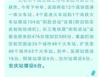 """好消息!安庆火车站可实现""""刷脸进站""""!新增6台自助实名制核验闸机!"""