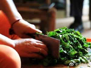 汉中特色美食:树叶凉粉