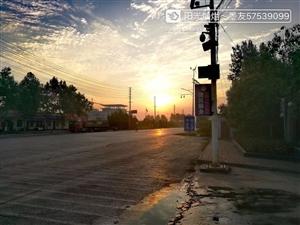 夕阳西下,断肠人在天涯,美高梅平台的晚霞好漂亮