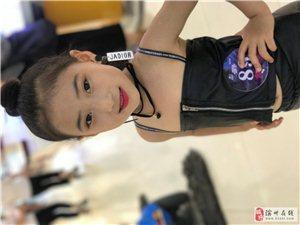 第九届中国国际少儿车模大赛滨州赛区推荐选手王蔓妮