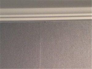 墙布贴成这样,工艺有问题吗