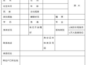 2019年修水�h消防救援大��P于公�_招聘政府�B�消防�T的公告