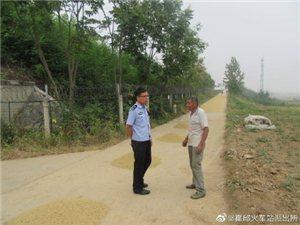 为提高人民爱路护路的观念,霍邱站民警进行走访宣传工作
