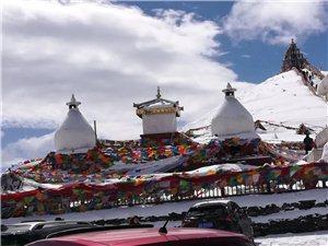 第一次去甘孜,被这里的雪景美到了。