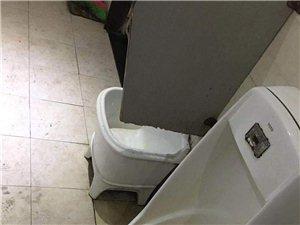 霍邱剧院公共厕所,常年停水!