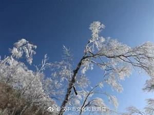 冬天的雪花,是大自然写给佛坪的诗