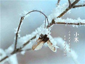 """今日5�r30分""""小寒"""":季冬�_始三九至,�f�q近暮新�q��"""