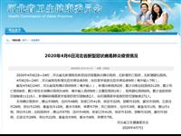 4月6日河北省新型冠状病毒肺炎疫情情况