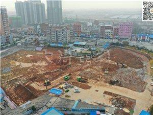 大冶新世界广场2020年1月最新施工进度