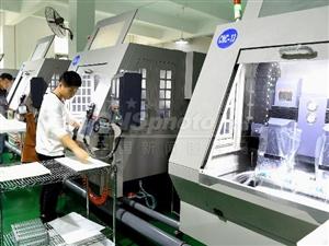 安徽涡阳:电子企业忙生产