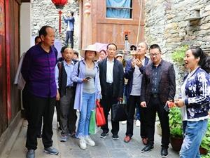旬阳县太极城文化研究会汉江蜀河古镇文化采风活动