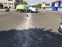 鄱阳:混凝土搅拌车污染路面被查处