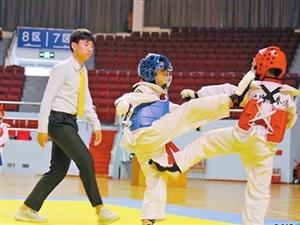 珠海市民健身�\���跆拳道推�V� 350人展示精湛技�