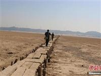 鄱阳湖底600年古桥露真容!